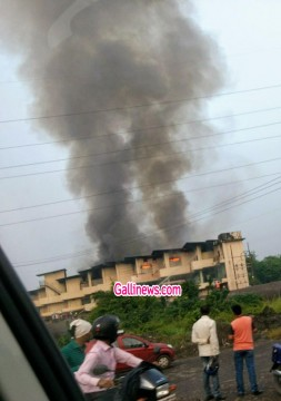 Fire in bhiwandi Hindware Crockery Company