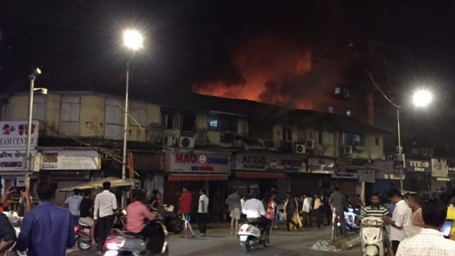 Fire in Mao Chinese Restaurant