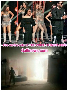 Fire on the Sets of The Voice India Kids