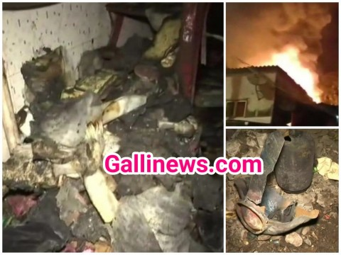 LPG Cylinder Blast in a Shop at VP Nagar Worli