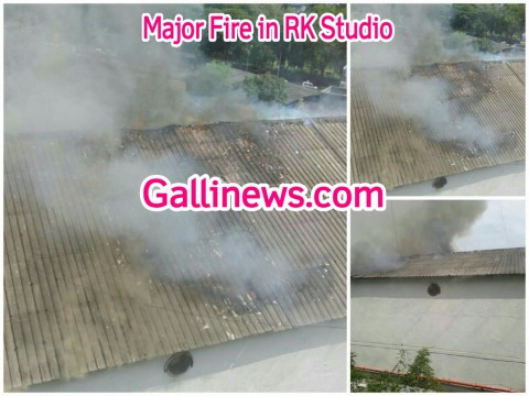Major Fire in RK Studio