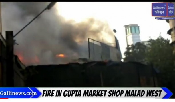 Fire In Gupta Market Shop Malad West