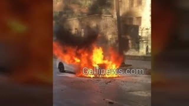 Fire in Car at Metro Theatre