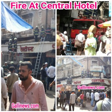 Fire At Central Hotel