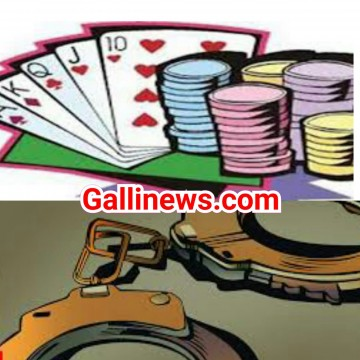 Gambling Den Busted at Dana Bandar by ACP Mane JAPU Branch