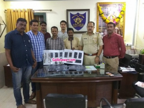 Ghar Fod kar Chori karne wale Gang ke 3 Person Arrested Aur 2 laptop 12 Mobile Gold Silver Seized At Palghar