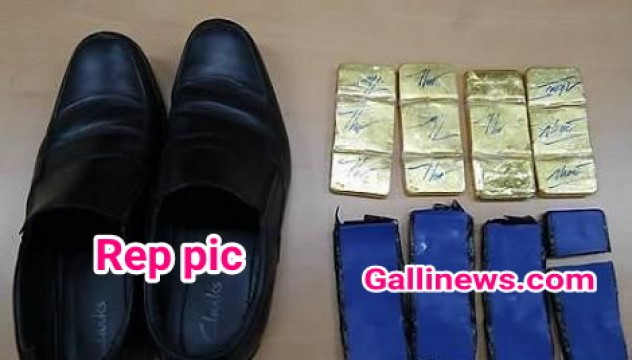 Shoes mai Gold Smuggling