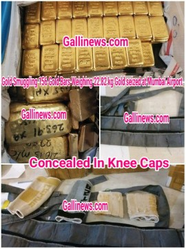 Battery ke andar gold smuggling