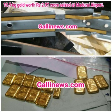 11 kg gold worth Rs 3 crore seized