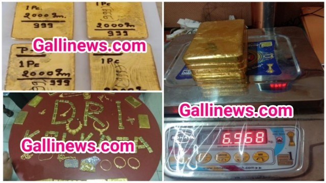 Gold Smuggling 42 Kg Gold Worth Rs 16 5 Crore Seized By DRI From Mumbai Kolkatta & Raipur10 Smuggler Arrested