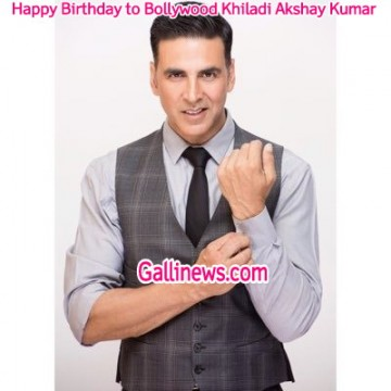 Happy Birthday to Bollywood Khiladi Akshay Kumar