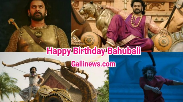 Happy Birthday Bahubali