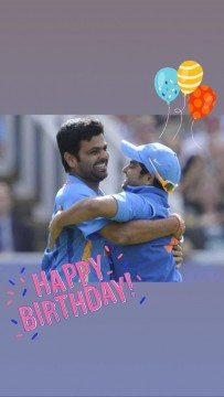 Happy Birth Day Criketer R P Singh