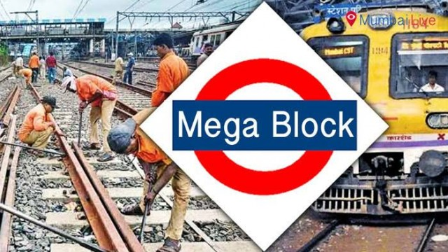 RAILWAY MEGABLOCK ON 12th JANUARY 2020 SUNDAY