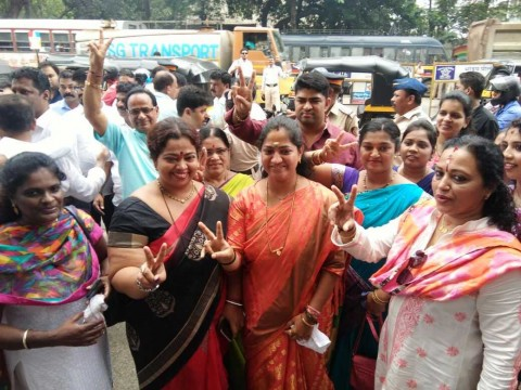 BMC Election Ward No 116 se BJP Candidate Jagruti Patil ne jeet haasil ki