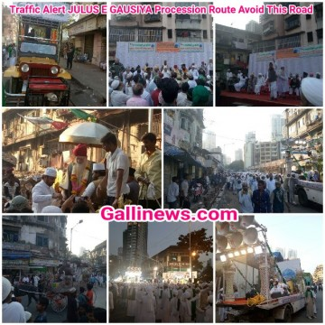 Traffic Alert JULUS E GAUSIYA Procession Route Avoid This Road