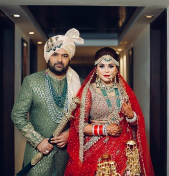 Kapil Sharma Ginni Chatrath marriage Inside pics from their dreamy Punjabi wedding