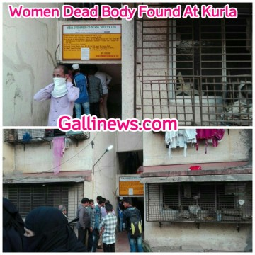 Women Dead Body Found At Kurla