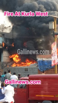Fire At Kurla West