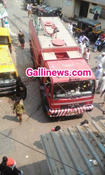 Fire At Quresh Nagar Kurla East