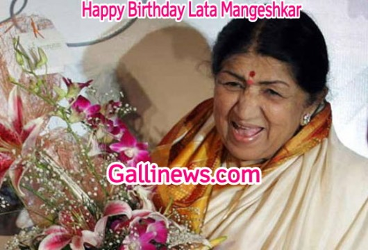 Happy Birthday Lata Mangeshkar
