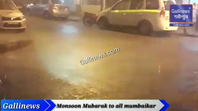 Monsoon Mubarak to All Mumbaikars