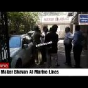 Fire in Maker Bhavan Marine Lines Next to Income Tax Bhavan