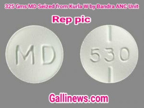 325 Gms MD Seized from Kurla West by Bandra ANC Unit