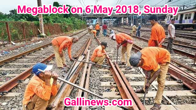 Megablock on 6 May 2018, Sunday