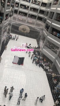 Man Jump From Mantralaya Bldg on Safety Net Demand Mahila CM