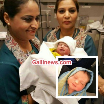 Baby Girl Born On Board Pakistan International Airlines