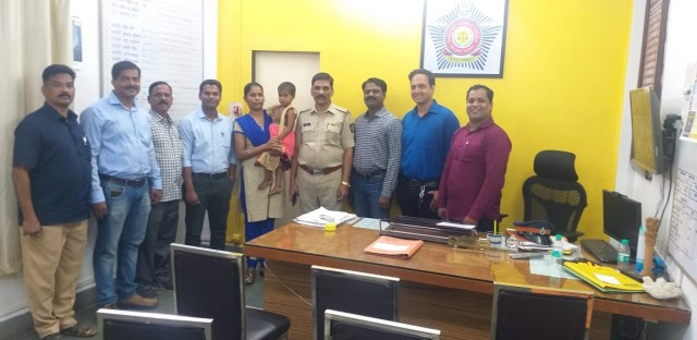 Nirmal Nagar P stn Recovered 3 yrs kidnapped Girl from Cuffe Parade 2 Accused Arrested