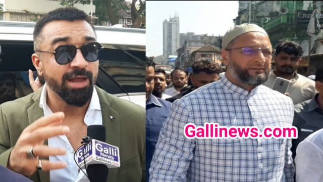 Ajaz Khan Open Challange to Asaddudin Owaisi  Byculla Waris Pathan  ke Saamne Election Ladenge