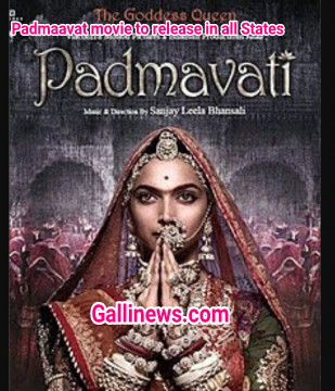 Padmavat Movie to Release in All states