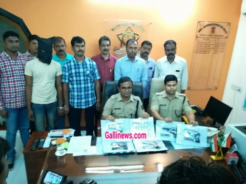5 Pistal, 18 Zinda Kartoos Seized & 1 Person Arrestd by Crime Branch Vasai Palghar