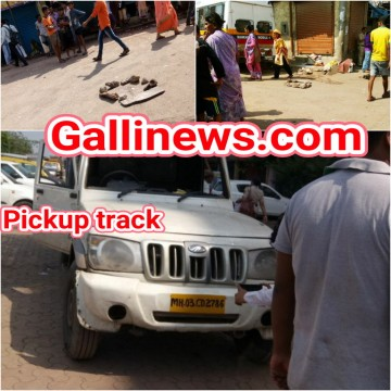 3 year child dead in Road Accident