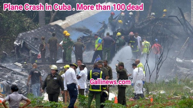Plane Crash in Cuba More than 100 dead