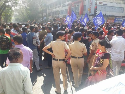 Mumbai and Thane Returing to Normal after Massive Protest By Dalits