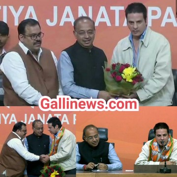 Bollywood Actor Aashiqui Fame Rahul Roy ne kiya BJP join