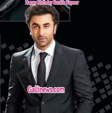 Happy Birthday Ranbir Kapoor