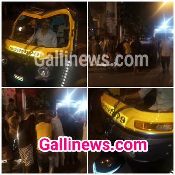 Over Speed Auto Rikshaw Hui Palti At Bandra