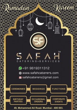 Ramzan Special Favourite Items by Safah Catering Services
