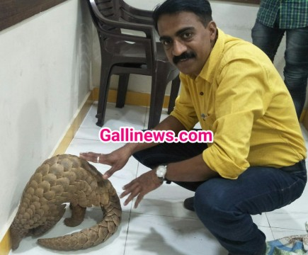 Indian Pangolin Bechane Aaye Gang ke 3 Person Arrested by Crime Branch Unit 1 Thane