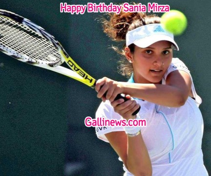 Happy Birthday Sania Mirza