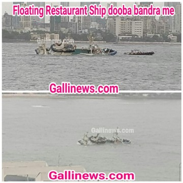 Floating Restaurant Ship dooba bandra me
