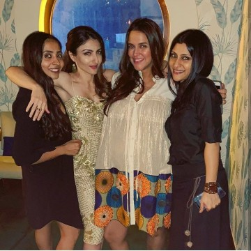 Actress Soha Ali Khan Ne Apna 40th Birthday Celebrate Kiya