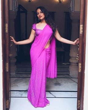Purple beauty sonakshi sinha looks gorgeous in these pictures