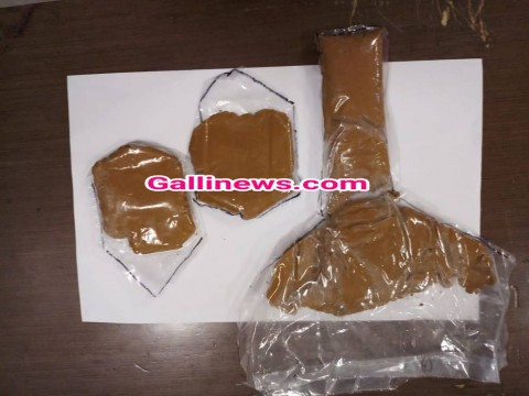 Inner garments mai Gold smuggling  770 gms Gold worth Rs 22 lakhs seized by AIU at CSI Airport