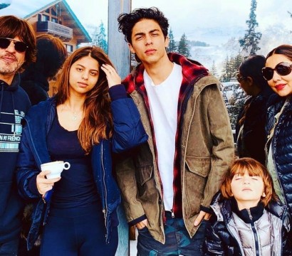 Its all in the genes The Khans pose for a stunning family picture