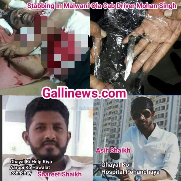 Stabbing In Malad Malwani